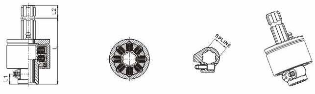 Универсальная храповая (кулачковая) муфта SAS2