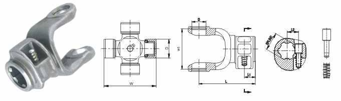 Вилка концевая 7NS.0505 (35 x 94)